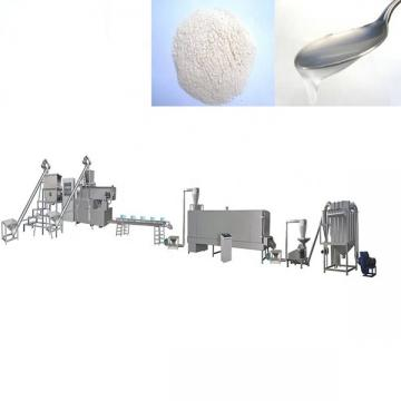 Modified starch extruder equipment automatic modified starch processing machinery corn Modification food production line