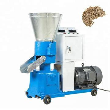 Manufacture specialize in design flat-die feed pellet mill with CE approved