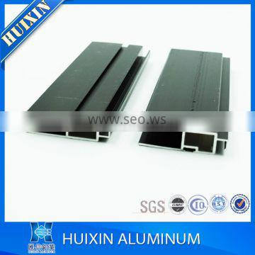 Anodized aluminum make aluminum window and door section with certificate