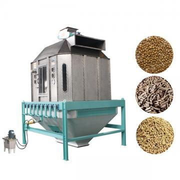 Counter flow Type Animal Feed Pellet Cooler Soybean Meal Puffing Material