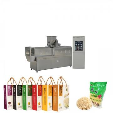 Artificial rice processing equipment expanded industry automatic instant rice making machine
