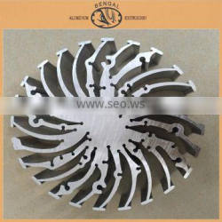 Hot Selling Aluminum Products in Aluminum Heat Sink Section Aluminum Radiator