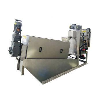 Solid Liquid Separator Sludge Dewatering Machine Screw Press