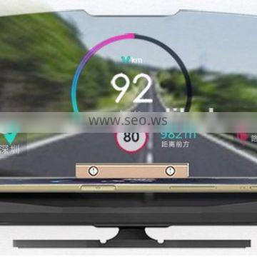 HUD Mobile Navigation Bracket with factory price for safety driving