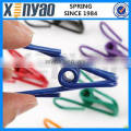 """PVC-Coated 2"""" Steel Wire Clips"""