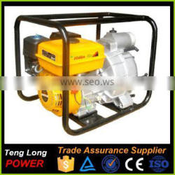 Electric start 3 inch centrifugal mini water pump with gasoline motor price