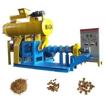 Fish Meal Puffing/Corn Soybean Pet Food Extruder/Animal Poultry Livestock Feed Pellet Making Mill Machine