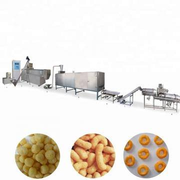 Grain Rice Corn Puffed Snack Food Making Extruder Machine