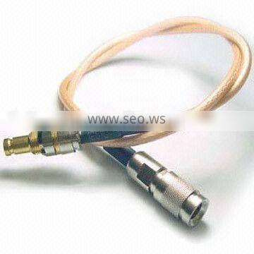 SAA male connectors to 1.0/2.3 female for RG179 cable pigtail