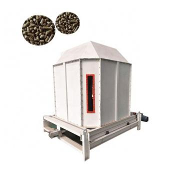High quality animal feed pellet counterflow cooler poultry feed cooling machine for sale