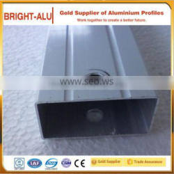 New manufacturing process 6061 t6 extruded aluminum alloy tube thin wall square tube