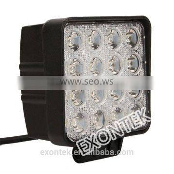 Wholesale led work light for tractor LED headlight 48W prompt shipment