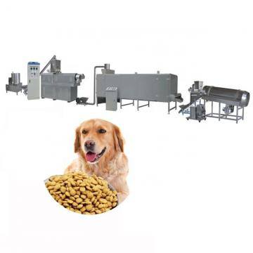 Full Automatic Dog Cat Food Making Machine Pet Feed Bulking Production Extruder Plant Line