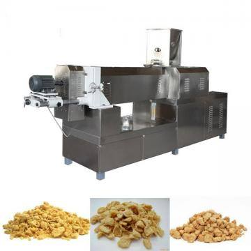 Twin-Screw Extruded Textured Soy Protein Tvp Tsp Mock Meat Factory Plant Solution Processing Line Machine