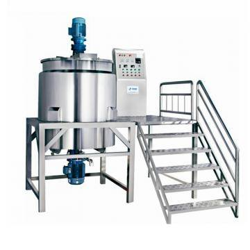 Industrial electric heating stainless steel chemical mixing tank hand wash liquid soap making machine