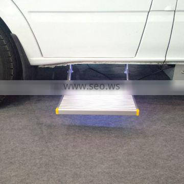 Electric Aluminum car step Electric Folding Step for caravan with CE
