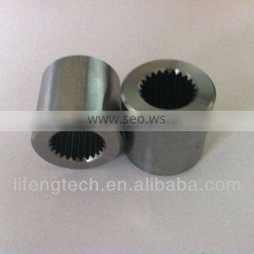 high precision machining shaft coupler