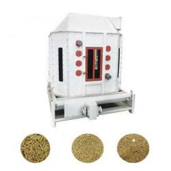 Counter Flow Feed Pellet Cooler Screening Machine Multifunction For Animal