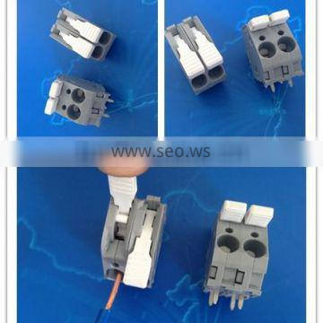 equivalent wago 2706 large current quick connecting spring terminal block for industrial controllers 0.5`6.0mm2