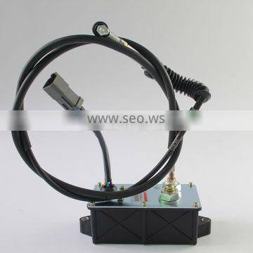 Excavator Parts R215-7(2.2 meters circle) Throttle Motor for Hyundai with high quality