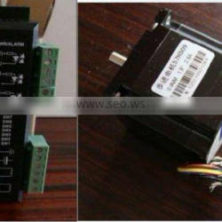 stepper motor 573s15 and driver 3ND583 for laser cutting machine