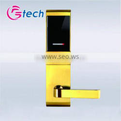 Multi lock doors,American standard mortise hotel door lock,smart m1 card sensor hotel lock