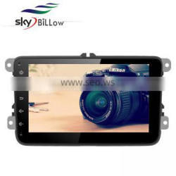 Touch screen 8 inch android car dvd for vw passat with gps and bluetooth enabled
