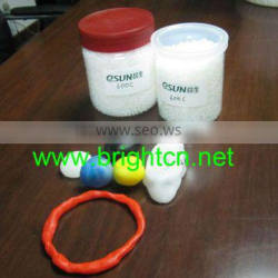 Red prototype material, thermpplastic polycaprolactone
