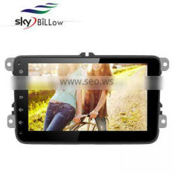 High quality 8 inch oem android car dvd player with gps navigations and smart bluetooth