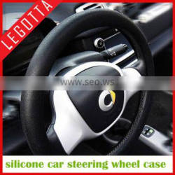 2015 hot sale reusable durable easy clean steering wheel cover promotional