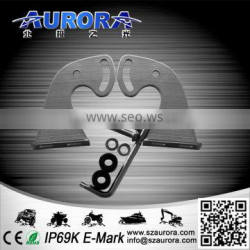 Stainless steel bracket for Aurora dual row LED bars