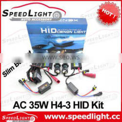 Top Selling and High Quality AC DC 12V 24V 35W 55W 75W Auto HID Light