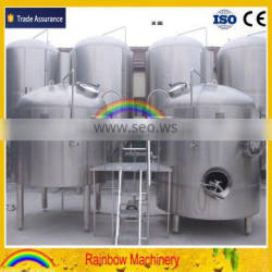 beer brewing equipment, beer brewery equipment, beer fermentation tank with cooling jacket