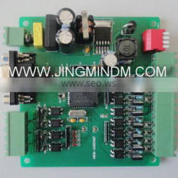 JMDM professional stable and reliable LED control board with 4 channels input and 8 channels transistor output