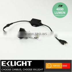 Led Headlight Without Fan Super Bright Led Headlight 24w 2800lm For Car