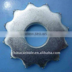 carbide cutters for concrete grinding and milling, scarifying asphalt, coating
