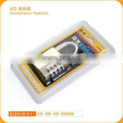 Combination Code Padlock With Double Blister Packing