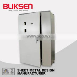 High quality customized sheet metal aluminum cover box/case