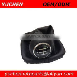 YUCHEN Car Shift Gear Knob With Gaitor Leather Boot For Audi A6 C5 1997-2004 OEM 4B0863279A