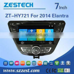 touch screen stereos audio type player multimedia navigator car stereo for hyundai elantra 2014 with gps