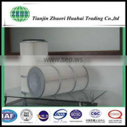 Filter cloth material dust filter and well cleaning dust collector filter