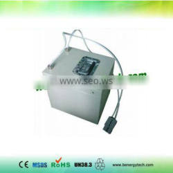 72V 60Ah LiFePO4 rechargeable battery pack for wind system and solar system