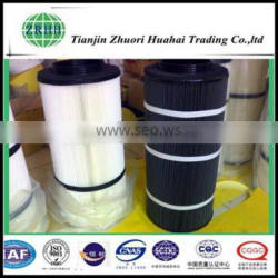 Gas system usgae for removal dust filter cartridge