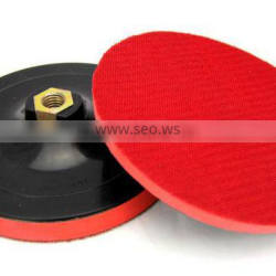 Rotary polisher EVA Plastic plate backing pad,abrasive backing plate pad with Hook and loop MS-EVA series
