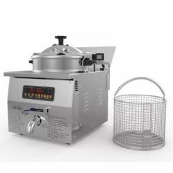 Best Quality Commercial Chiken Meat Donut Continuous Fryer