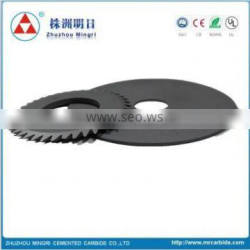 sintered carbide disc cutters for woodworking machinery