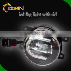 Automobile led fog light lamp drl led daytime running light car led light 3.5inch 30w 2 in 1 led fog light