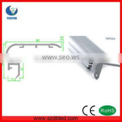 TSP024 Aluminum LED Profiles for Stairs lighting/ led profile for steps lighting