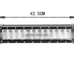 Super Bright led offroad light bar,off road led light bar 72w LED Bar Light for ATV UTV SUV Jeeps