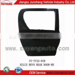 Rear door for toyota hilux revo aftermarket auto body parts wholesaler